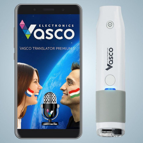 "Vasco Translator Premium 5"" + Escáner"